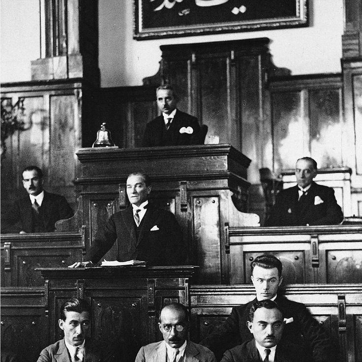 Atatürk Meclis konuşması,
