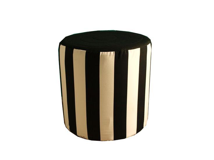Taburet Black Strips
