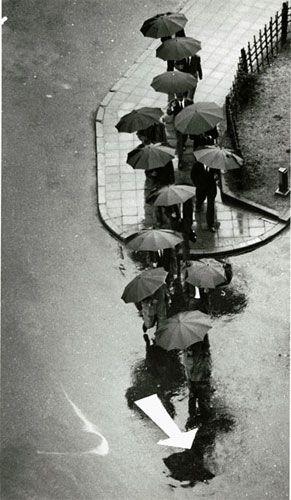 Andre Kertesz, Rainy Day, Tokyo, 1968