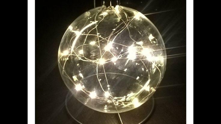 BOMBKA BŁYSKAWICA błyskawiczna ;) Bombka zamiast świecy !!!#Christmasdec...