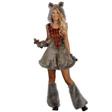 Wolf Costumes for Girls | Results In: Halloween Costumes Werewolf Teen Girl Costume