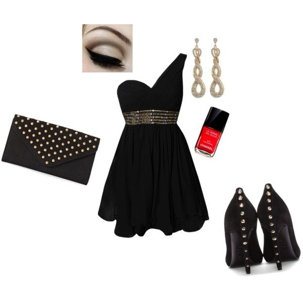"""sylwestrowo"" by victoriabeauty on Polyvore"