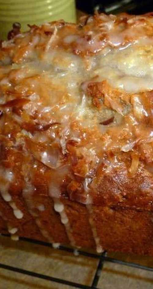 Recipe for Jamaican Banana Bread - A few interesting ingredients take this banana bread to a tropical place from which you will not want to return. Banana bread with an island twist. == FANTASTIC, YUMMY, KEEPER. ===
