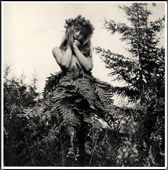 Ata Kandó (1913- ), Le Rêve dans la Forêt - 1957