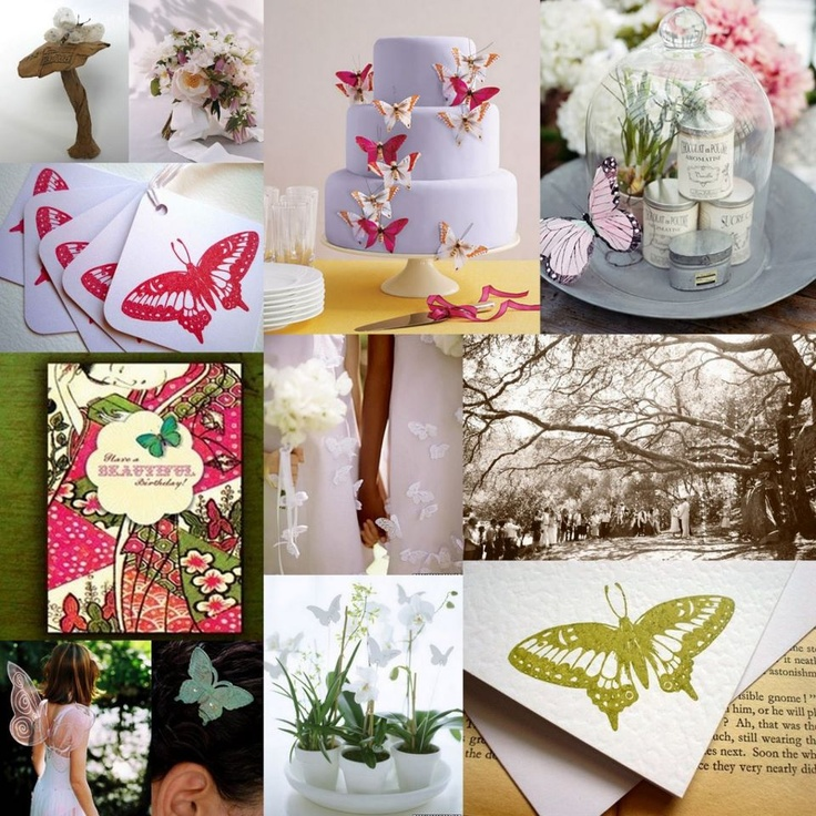 Butterfly Themed Wedding   Midway Media