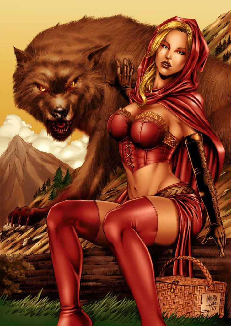Something Sexyhorny red riding hood commit error