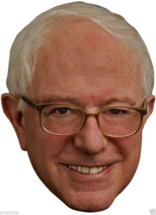 Bernie Sanders: Bernie Sanders 2016 Presidential Election Campaign -Full Head Window Cling Decal BUY IT NOW ONLY: $7.0