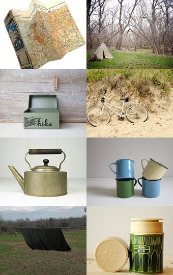 Camping in Style curated by gumo  Pinned with TreasuryPin.com