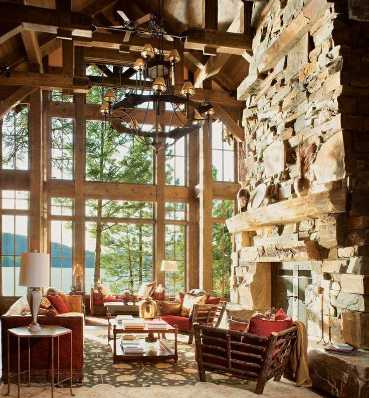 17 Best Images About Cabin Western Rustic Decor On Pinterest Western Homes Log Cabin Living