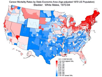 Best Ovarian Cancer Images On Pinterest Ovarian Cancer - Map of cancer rates in us