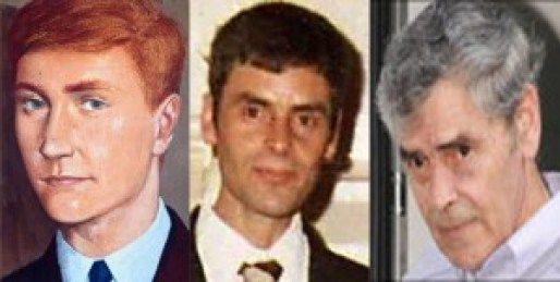 The resemblance of Peter Tobin to the artists impression of Glasgow's unsolved serial killer Bible John has not gone unnoticed. Artists impression of Bible John (left), Peter Tobin aged 27 (middle), Peter Tobin aged 60 (right)