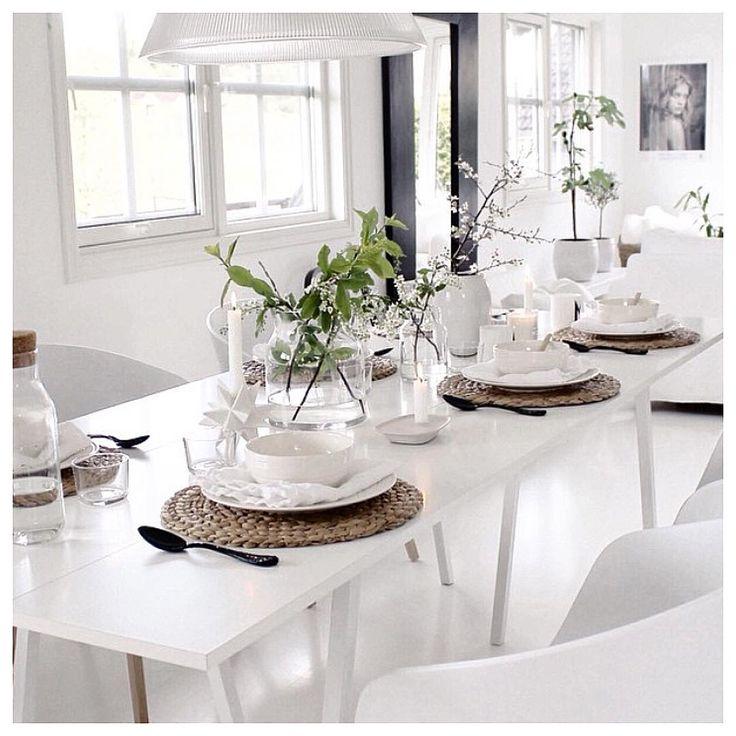 Light Table Setting