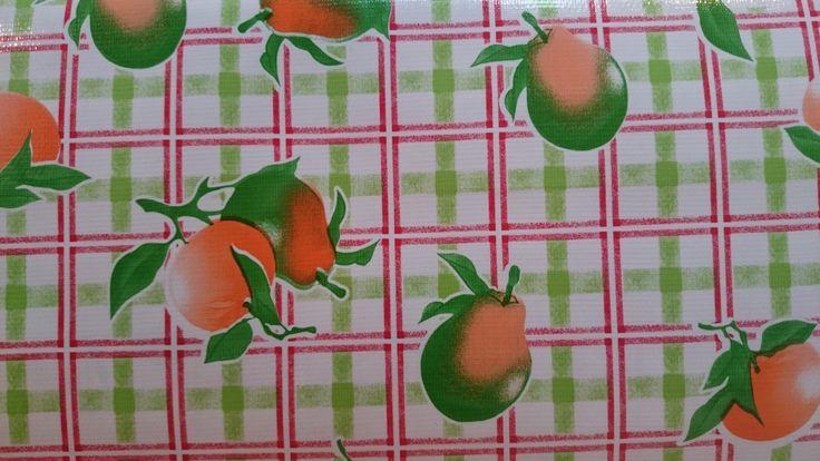 Appeltjes van oranje tafelzeil | VIA CANNELLA KINDERWINKEL | CUIJK | www.viacannella.nl