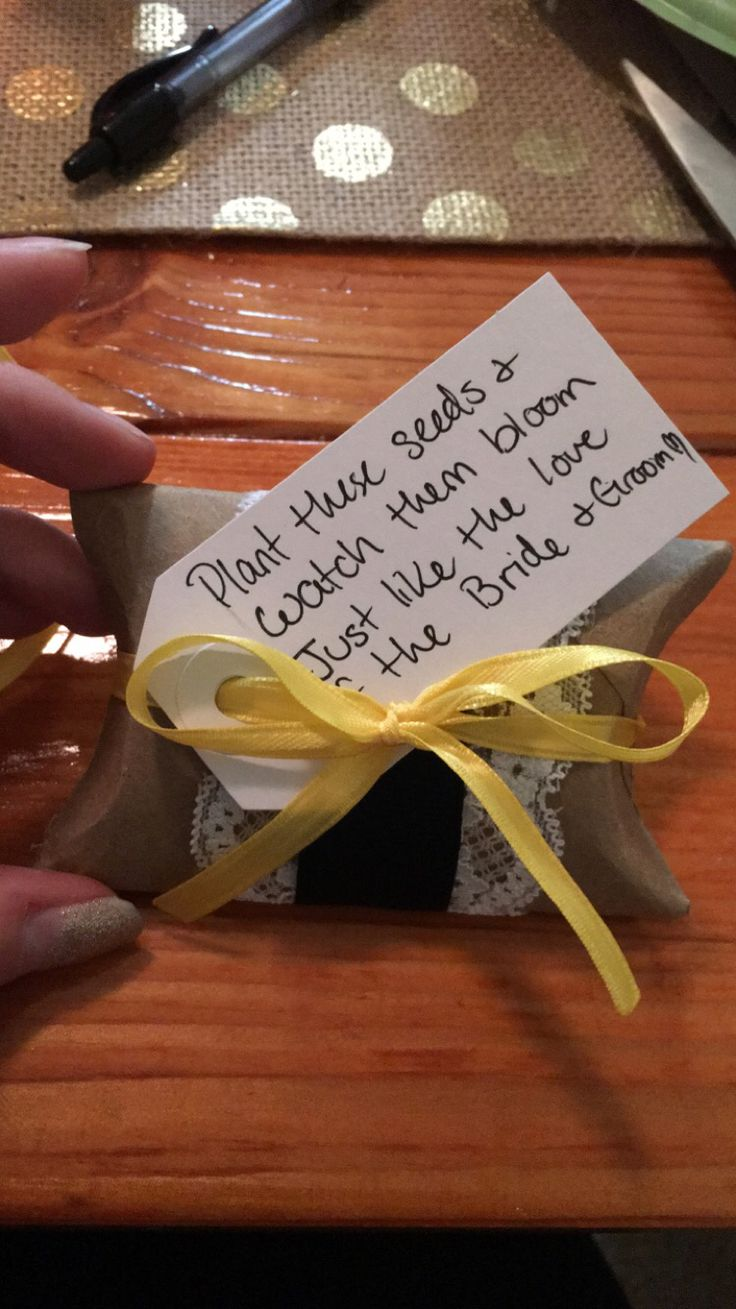 I made these wedding favors out of used toilet paper rolls and put a plastic baggy with about 20 sun flower seeds on the inside and decorated to my theme for the wedding.  #wedding #rusticwedding #weddingfavors #sunflowers