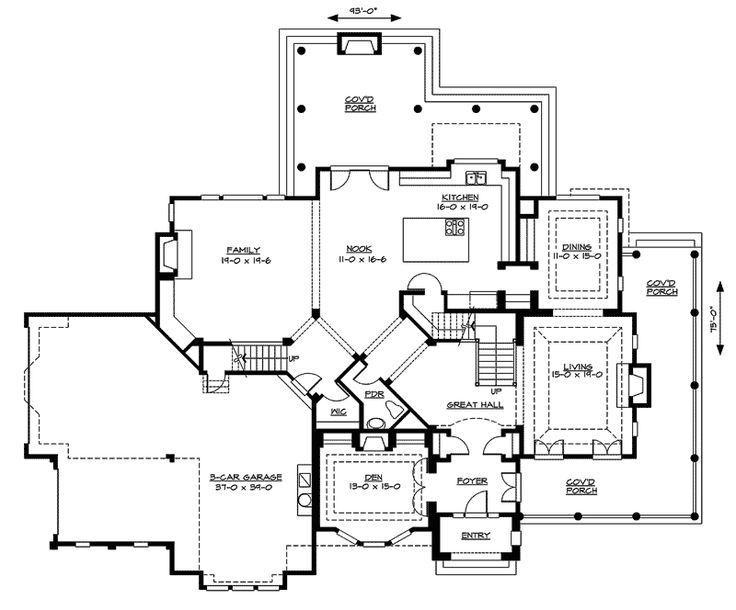 1000 images about house plans on pinterest old world for Old world floor plans