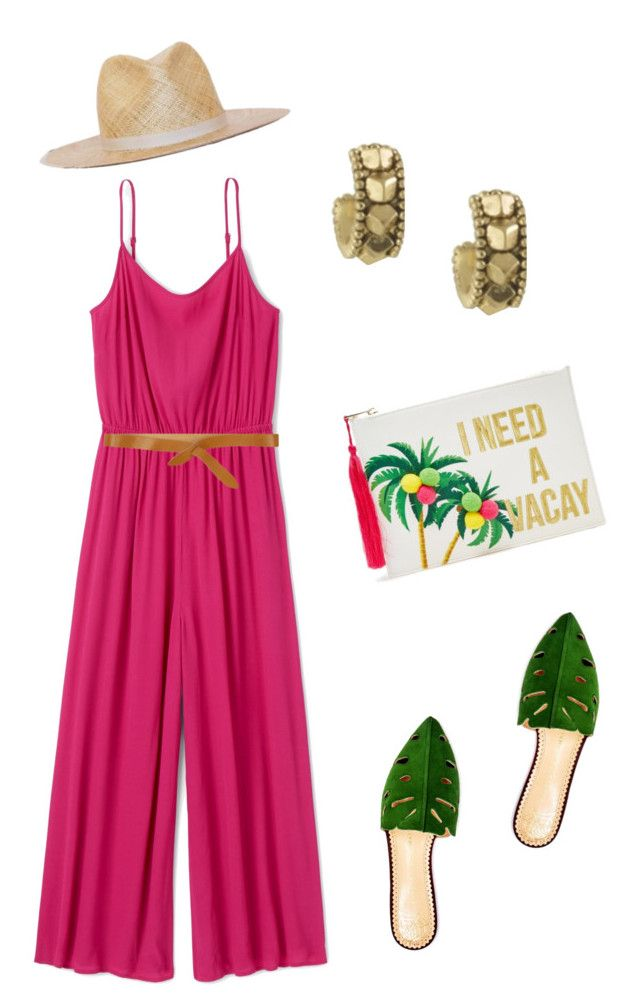 """House of Harlow Hoops - The July Box"" by yourbijouxbox on Polyvore featuring House of Harlow 1960, Elora, Forever 21, Charlotte Olympia and Isabel Marant"