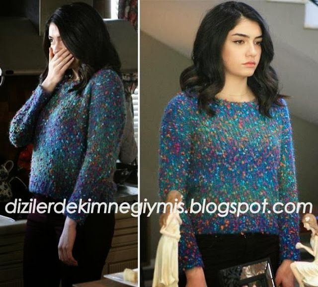 Medcezir - Eyll (Hazar Ergl), Topshop Sweater please follow me,thank you i will refollow you later