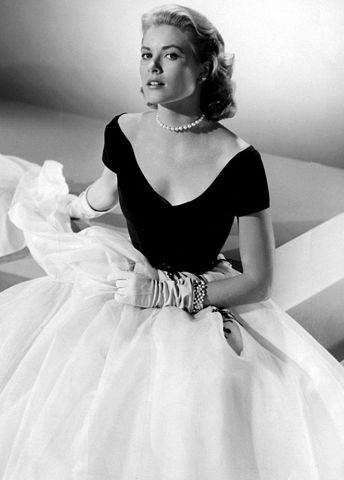 Grace Kelly--fashion icon yesterday, today, and tomorrow.