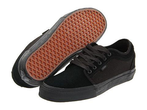 Vans Chukka Low Black/Black - Zappos.com Free Shipping BOTH Ways