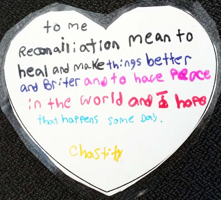 Hearts created by children from across Canada - honouring the children lost to…