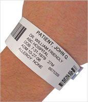 hospital band template