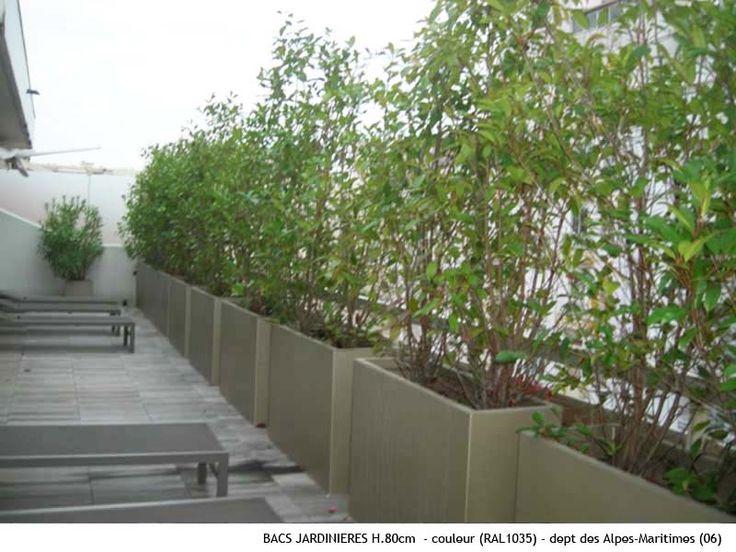 Jardini res sur terrasse amenagement jardin terrasse for Pinterest jardin terrasse
