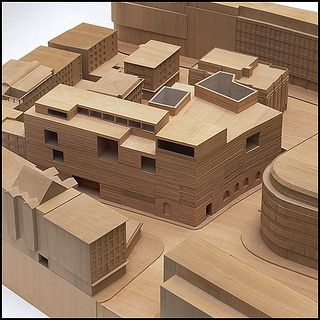 "Peter Zumthor ""Kolumba Museum, Cologne"", 1997-2007 Courtesy of Deutsches Architekturmuseum, architectural model,"