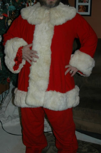 Vintage Santa Costume from the Santa Claus Suit ...