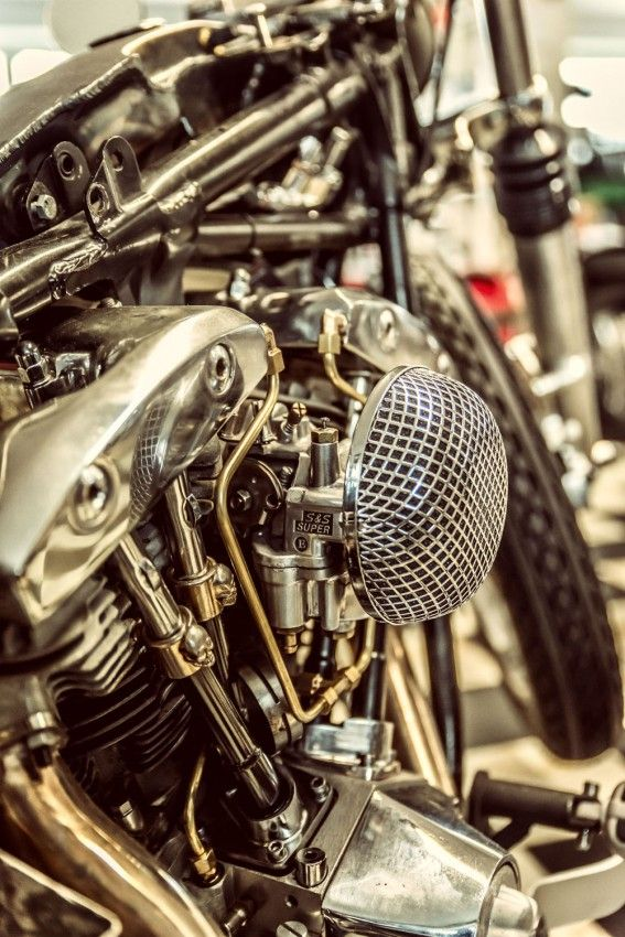 S U0026s Carburater On A Harley Shovel Head