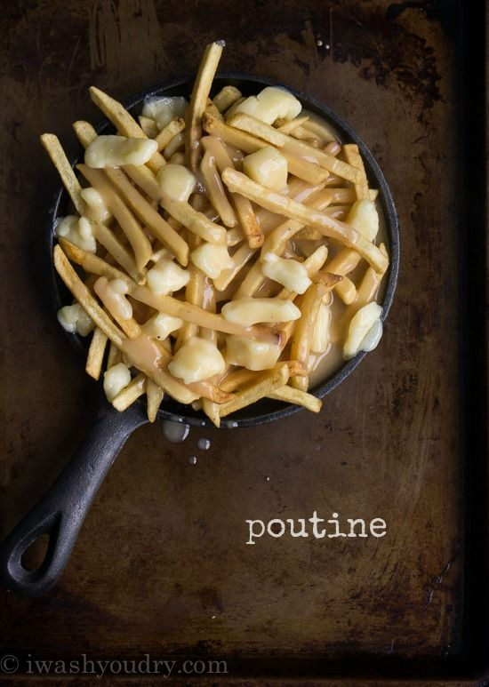 Poutine Gravy Recipe - This is awesome!  Had this during a visit to Victoria BC...wasn't sure I'd like, but loved it!
