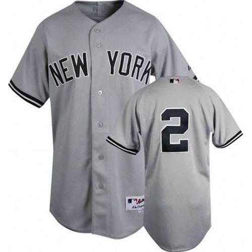 2bb9ec950 ... Steiner Derek Jeter Authentic New York Yankees Road Jersey ...