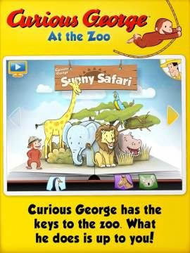 FREE for limited time! Curious George at the Zoo for iPad. Also iPhone version is free now! All great free apps updated daily: http://www.appysmarts.com/free_apps.php