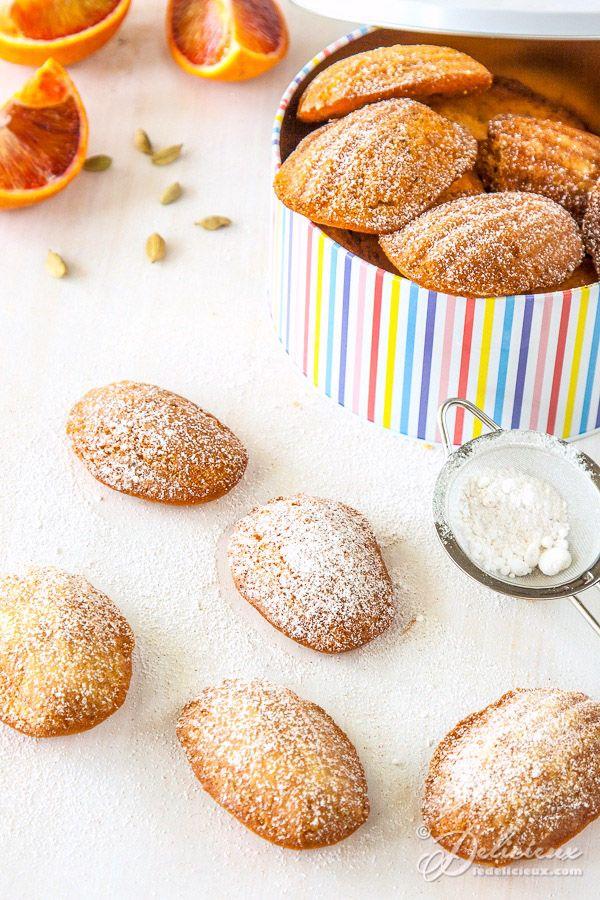 honey madeleines lemon cardamom madeleines orange cardamom cardamom ...