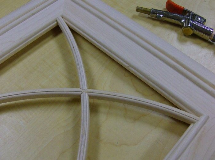 More Solid Wood Machining – Curved Mullions « Web Columns