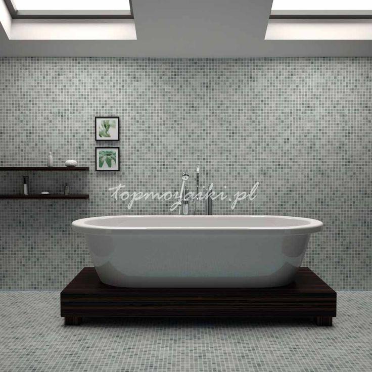 Luksus i minimalizm w łazience | O mozaikach