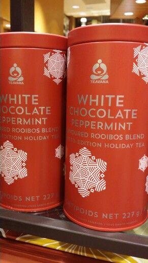 Teavana White Chocolate Peppermint. Best herbal tea ever!