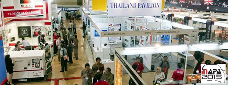 INAPA Jakarta 2015 - The 7th Indonesia International Auto Parts, Accessories and Equip Exhibition #ExpoIndonesia