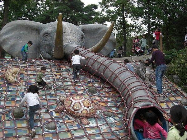 Elephant Slide - Seoul, Korea