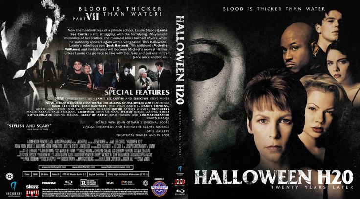 Halloween H20 Blu-ray Custom Cover