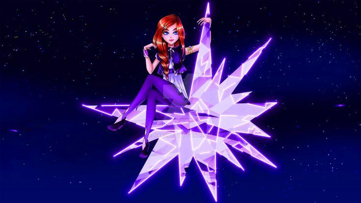 FR:Nous sommes le soleil et la lune et les étoiles...  EN:We are the stars and sun and diamonds...