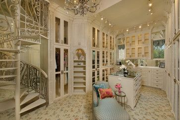 Storage and Closet / Dressing Room Interior Design Ideas, Remodels and Pictures ~ organizing ideas