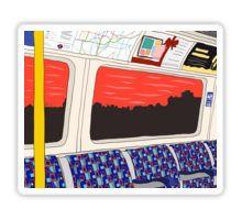 View from London Jubilee Line Sticker