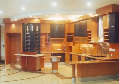Beautiful kitchen set design