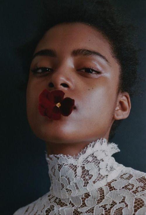 fashionvictime:  Alécia Morais by Marie Zucker May 2016
