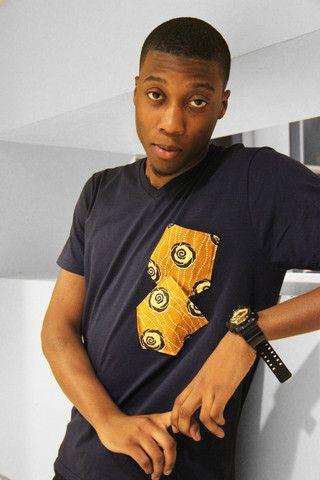 Ankara (African Print) Pocket T-Shirt | House Of Dara
