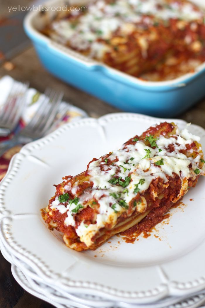 Easy Weeknight Dinner Chicken Manicotti