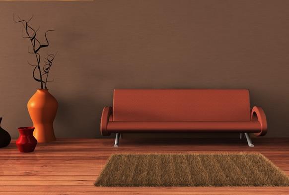Dacă, în general, pereții unei încăperi sunt vopsiți într-o singură culoare, interioarele de inspirație fovistă se disting prin utilizarea unei culori distincte pentru peretele principal. Acesta este pus în valoare atât de piesa de mobilier, definitorie pentru respectivul spațiu, cât și de folosirea unei culori secundare, complementare, în care sunt vopsiți ceilalți pereți.