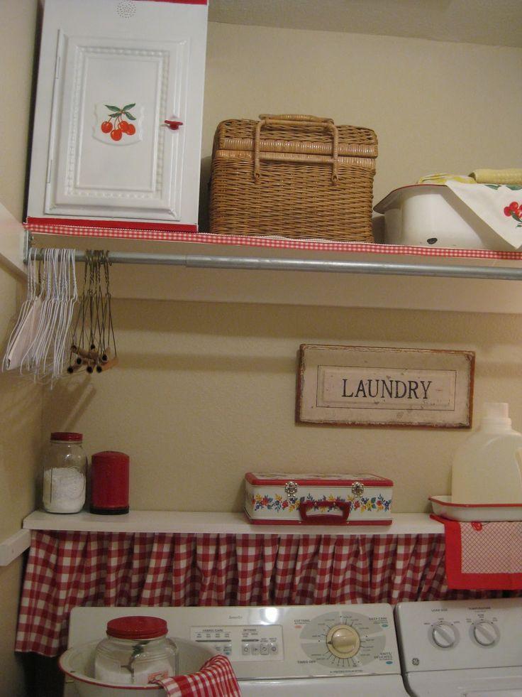 15 Awesome Fresh Primitive Laundry Room 21