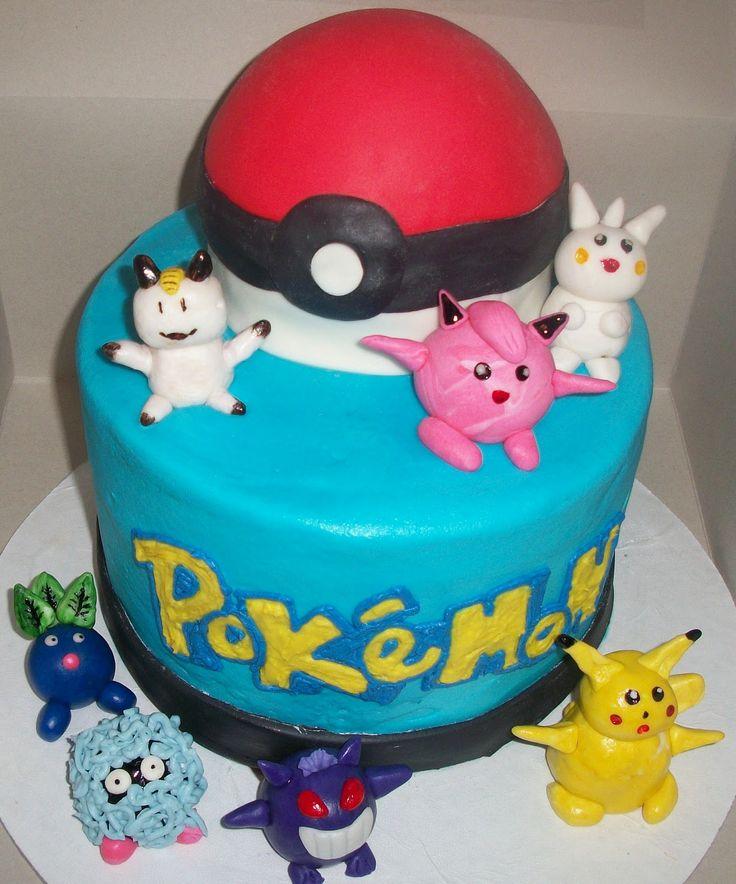 pokemon cakes | Fondant figurines