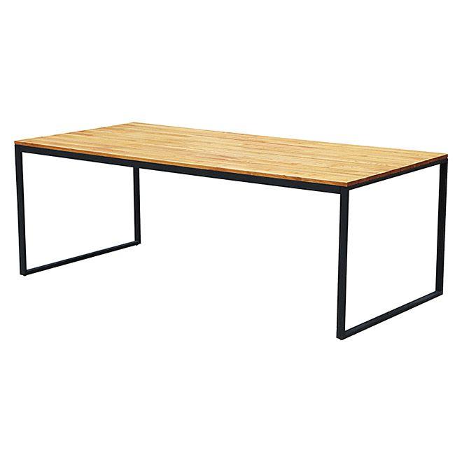Gartentisch L X B 220 X 90 Cm Material Tischplatte Holz